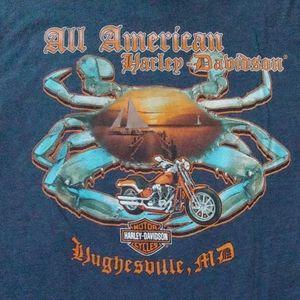 Harley Davidson. WI. T- shirt